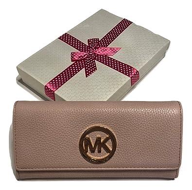 1da106b2ce4d MICHAEL Michael Kors Fulton Flap Continental Clutch Wallet (Blossom ...