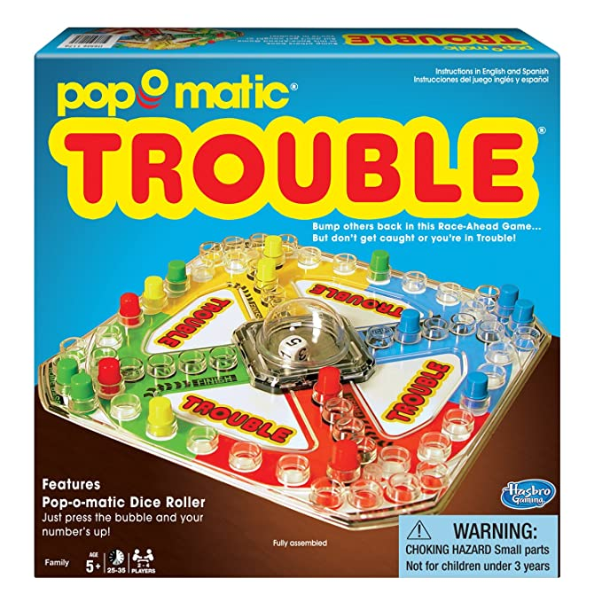 Amazon Winning Moves Games Classic Trouble Board Game Game
