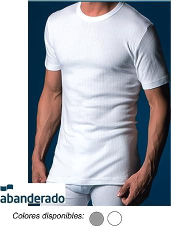 Abanderado - Abanderado Camiseta Interior Hombre Canalé Termal ...