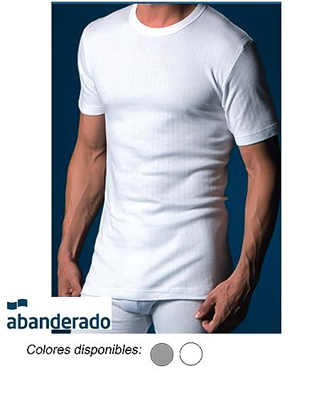 Camiseta Hombre Abanderado Interior Termal Canalé Manga S1wRvgHq