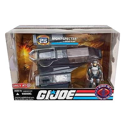 GI Joe 25th Anniversary Night Specter with Grand Slam - Attack on Cobra Island: Toys & Games