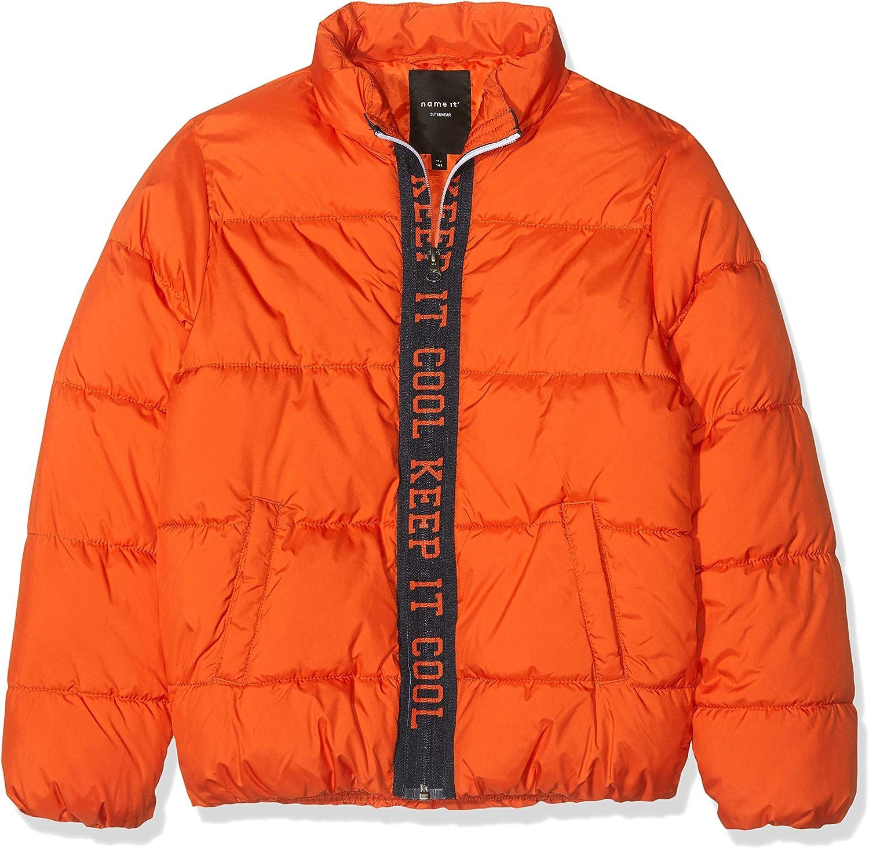 NAME IT Jungen Nkmmasti Zip Jacket Jacke