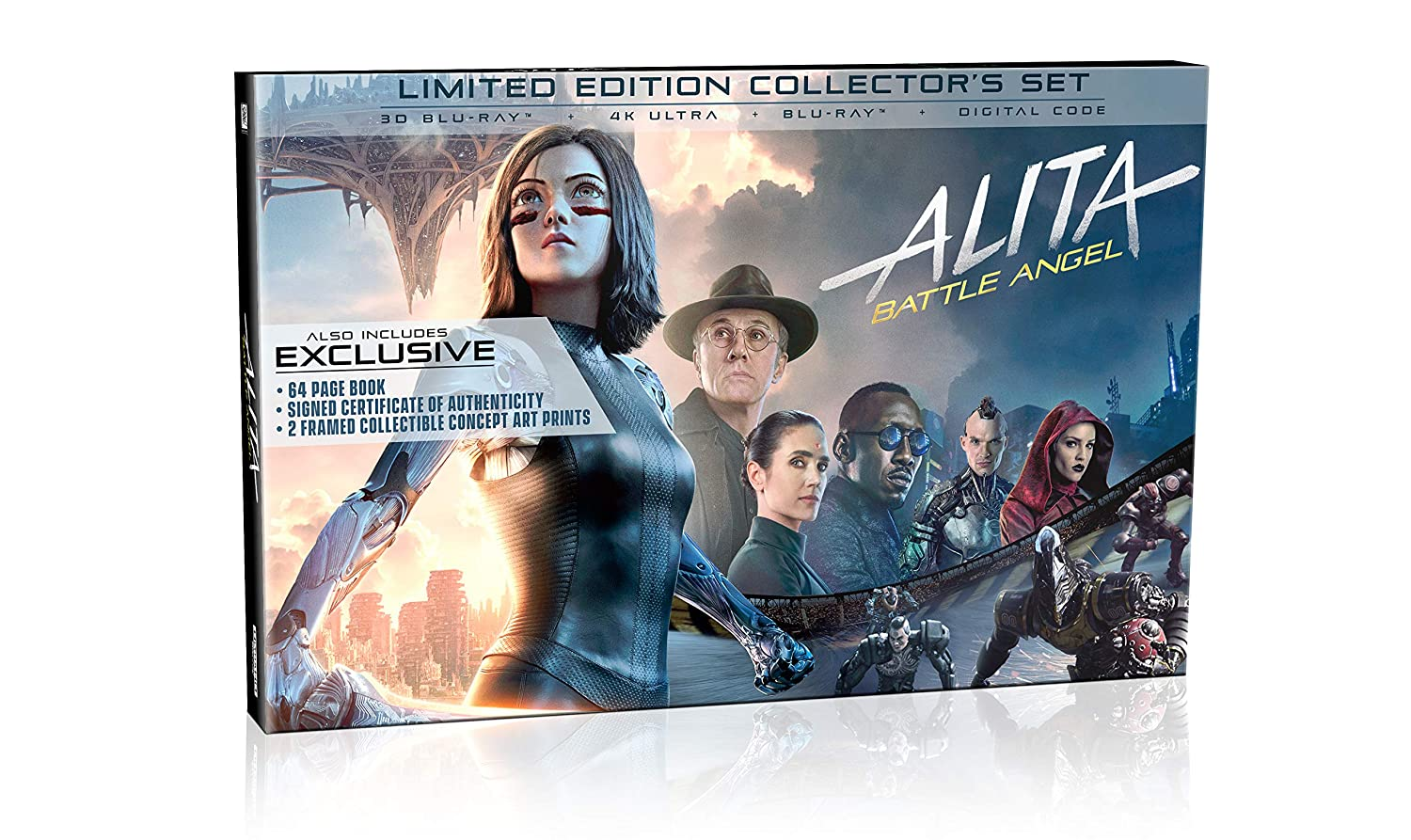 Amazon com: Alita: Battle Angel Limited Edition Collector's Set [Blu