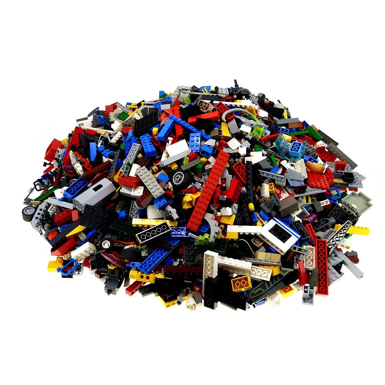 Bausteine gebraucht 4 Kg Lego System Steine ca. 2800 Teile Kiloware Gemischt z.B. Fenster Platten Tiere Bögen usw.