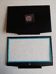 Replacement for HP Pavilion Gaming 15-CX0056WM 15-CX0058WM 15-CX0077WM 15-CX0020NR 15-CX0030NR 15-CX0040NR 15-CX0045NR LCD Back Cover Top Case Rear Lid & Front Bezel