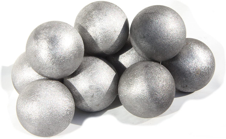 - Bola de hierro hueca de acero de 30 mm (#540-30), de Uhrig®, 10 unidades