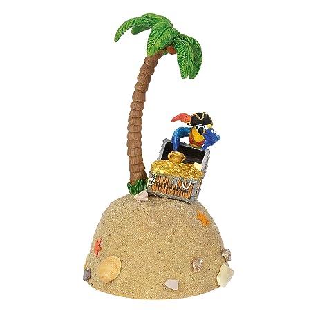 Department 56 Margaritaville Village Accessories Yes I am a Pirate Figurine Speaker Cover, 8 , Multicolor