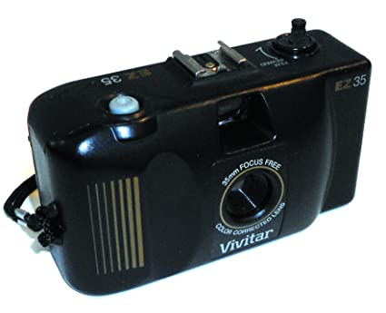 Amazon com : Vintage Vivitar EZ35 Focus Free Point & Shoot 35mm Film