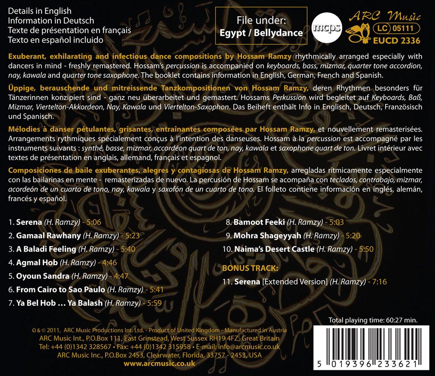 HOSSAM RAMZY - Bellydance Greats - from Cairo to Sao Paulo - Amazon.com Music