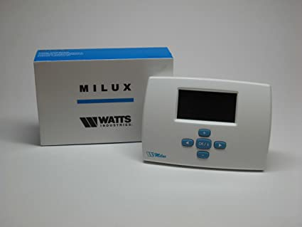 Cronotermostato digital programable semanal WATTS MILUX