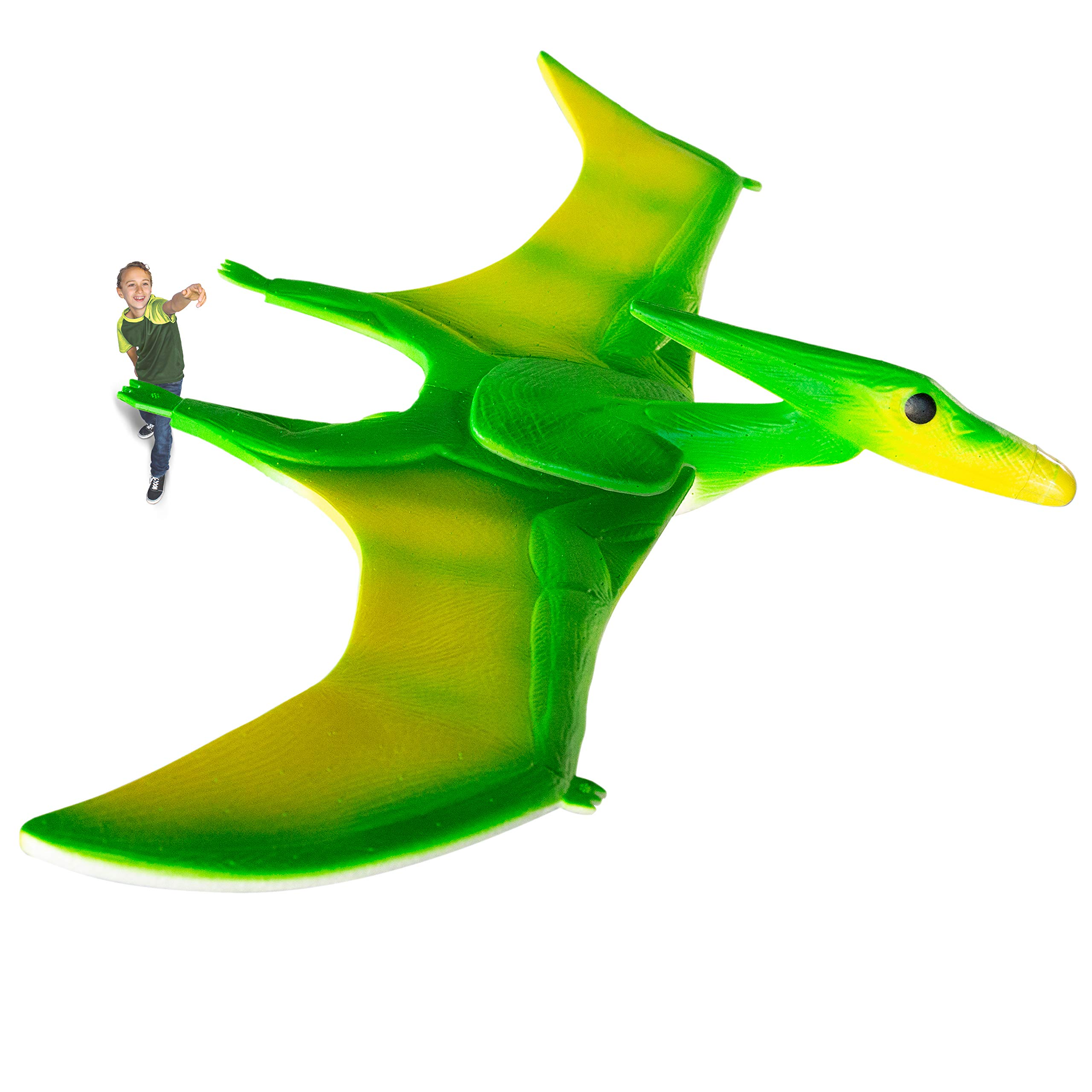 Geospace Geoglide Terror Pterodactyl Glider Kit with 33'' Wingspan, Green by Geospace