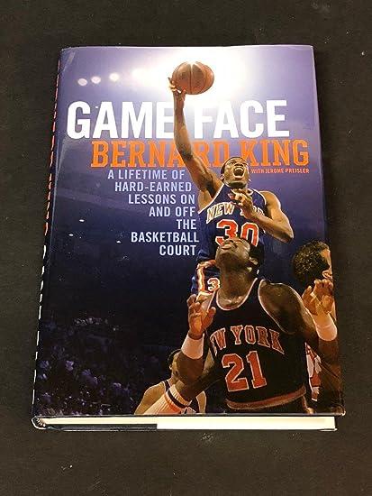 271168a78a97 Bernard King New York Knicks New Jersey Nets Game Face HOF Signed Autograph  Book - NBA