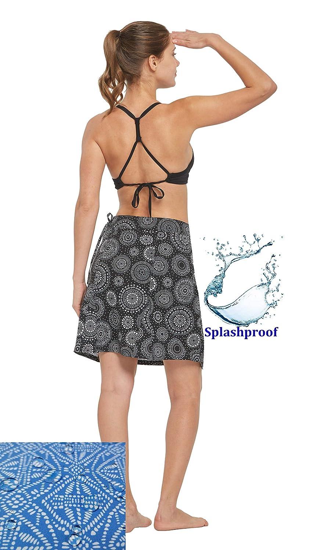 82bee4fc16 Amazon.com: HonourSex Womens Swim Beach Bikini Cover Up Swimsuit Wrap Pareo  Summer Skirt Sarong Clothing Multitasks Travel Swimwear: Clothing
