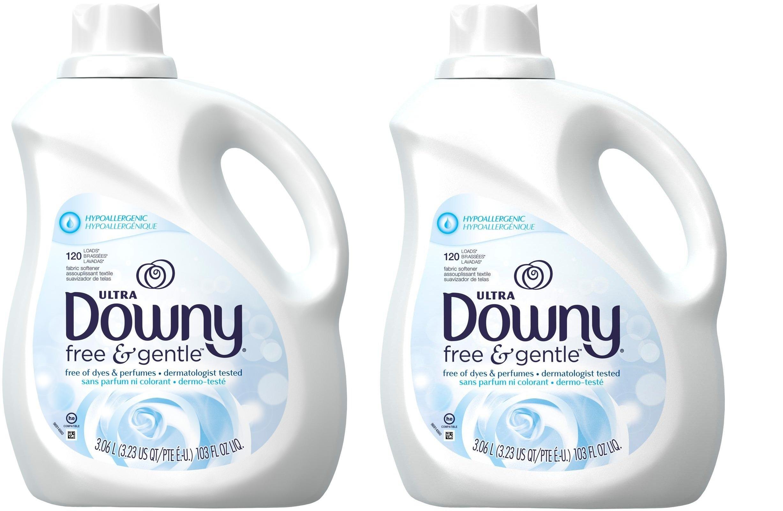 Downy Liquid Fabric Conditioner - Free & Gentle - 103 oz - 2 pk