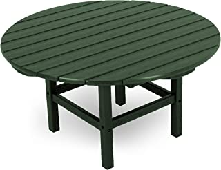"""product image for POLYWOOD RCT38GR Round 38"""" Conversation Table, Green"""