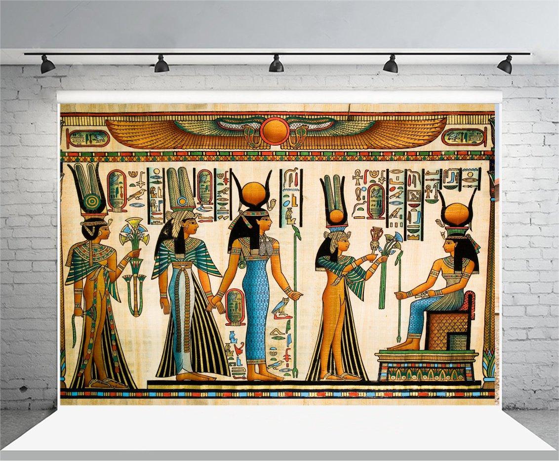 YongFoto 2,2x1,5m Fondos Fotograficos Antiguo Egipto Escena Murales Faraón Jeroglífico Papiro Egipcio Fondos para Fotografia Fiesta Niños Boby Boda ...