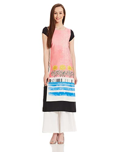 W for Woman Straight Kurta Kurtas at amazon