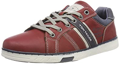 4882103, Baskets Homme, Rot (Fire), 42 EUTom Tailor