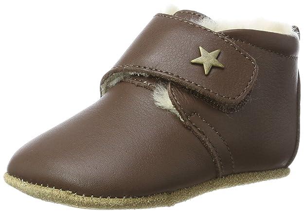Bisgaard Unisex Baby Wool Star Pantoffeln