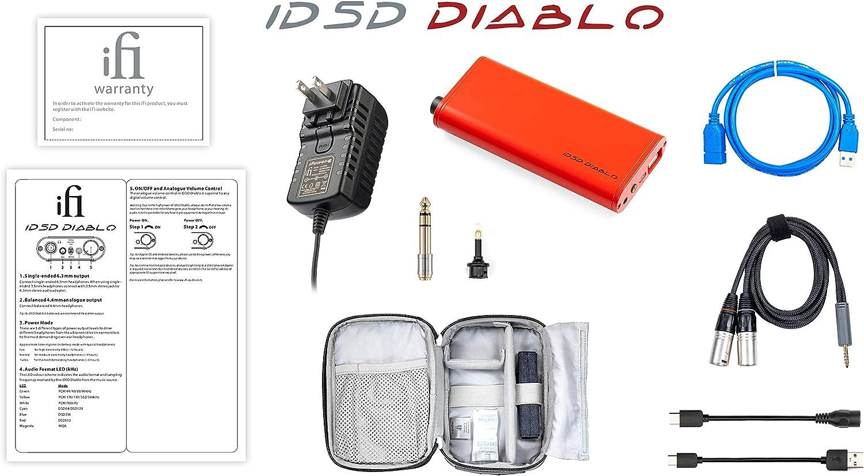 iFi Micro iDSD Diablo DAC portatile iFi Amplificatore per cuffie Uscita 4.4 mm