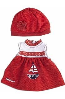 Vestido y Gorro Rojos (Famosa 700013822)
