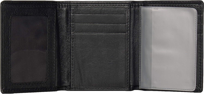 Siskiyou NFL unisex-adult Leather Tri-fold Wallet