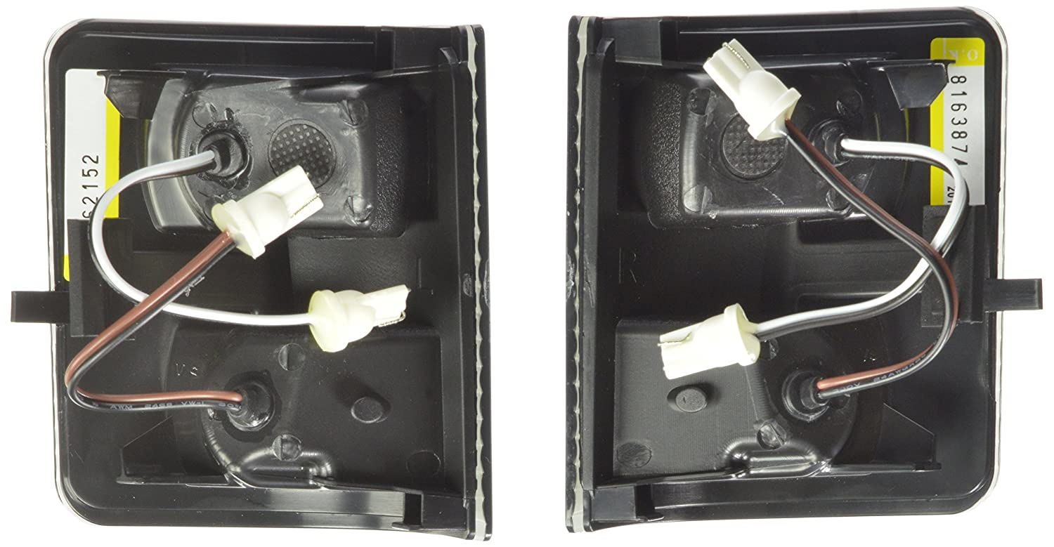 Recon 264140bk Led Mirror Smoked Lens Kit Automotive 2008 Ford F 150 Tow Wiring Lamps