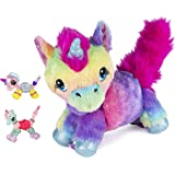 Twisty Petz, Series 4, Fluffums Unicorn Bundle with Cuddlez Plush and 2 Collectible Bracelets