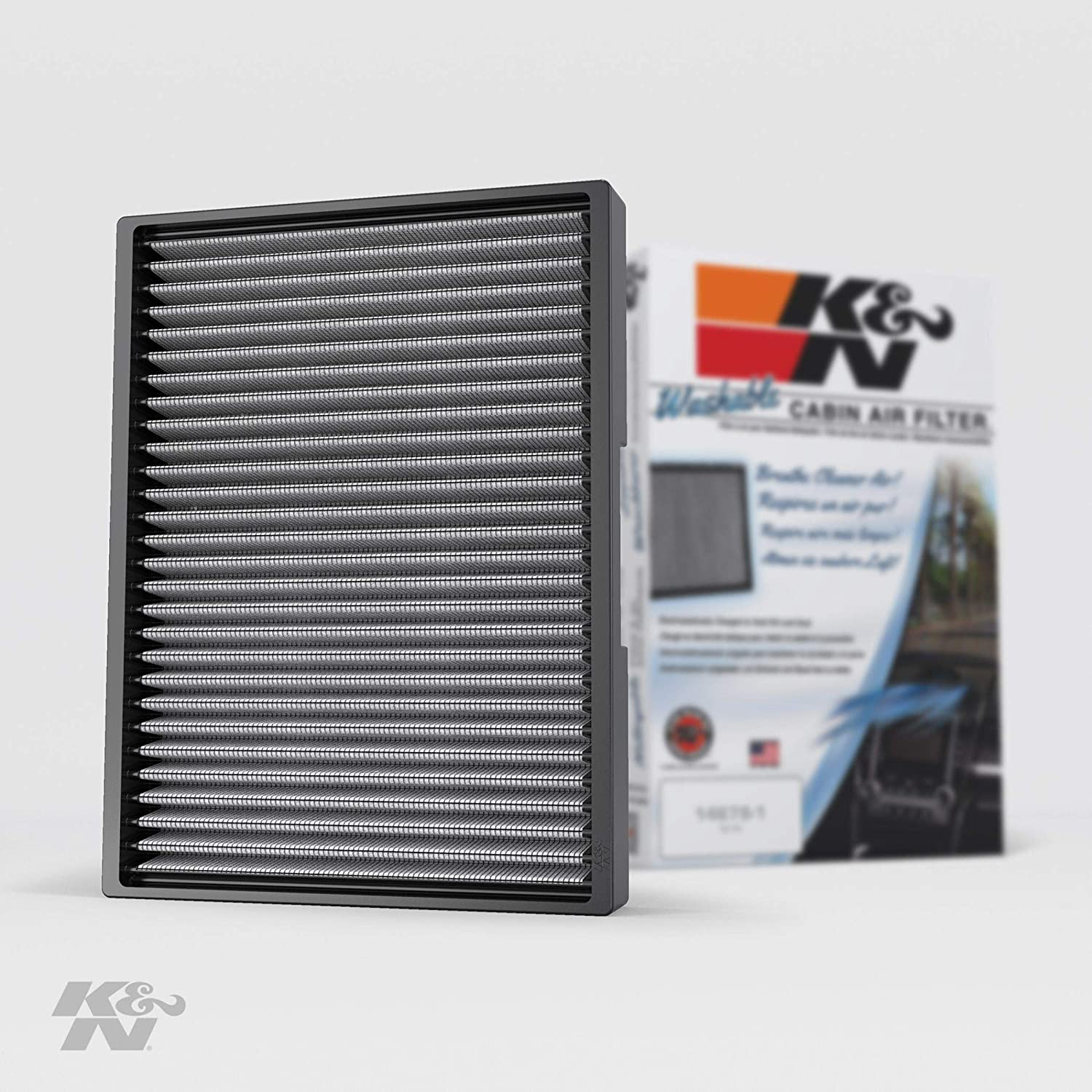 K&N Premium Cabin Air Filter: High Performance, Washable, Lasts for the Life of your Vehicle: Designed for Select 1993-2010 Volkswagen/Audi (Beetle, Golf, Jeta, GTI, Van, Passat, TT, A3), VF2012
