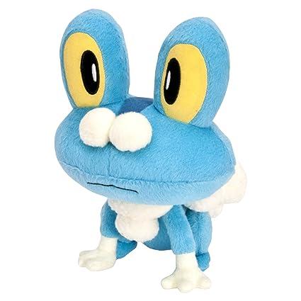 amazon com pokemon xy small plush froakie toys games