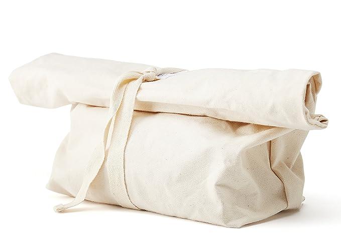 100% algodón reutilizable bolsa para el pan, ideal para ...