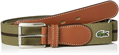 Lacoste Surcingle Belt PLM0964: Khaki