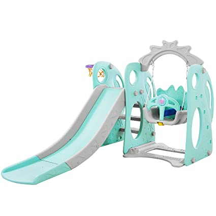Amazon Com Playeasy Climber And Swing Set Combination Of Swing