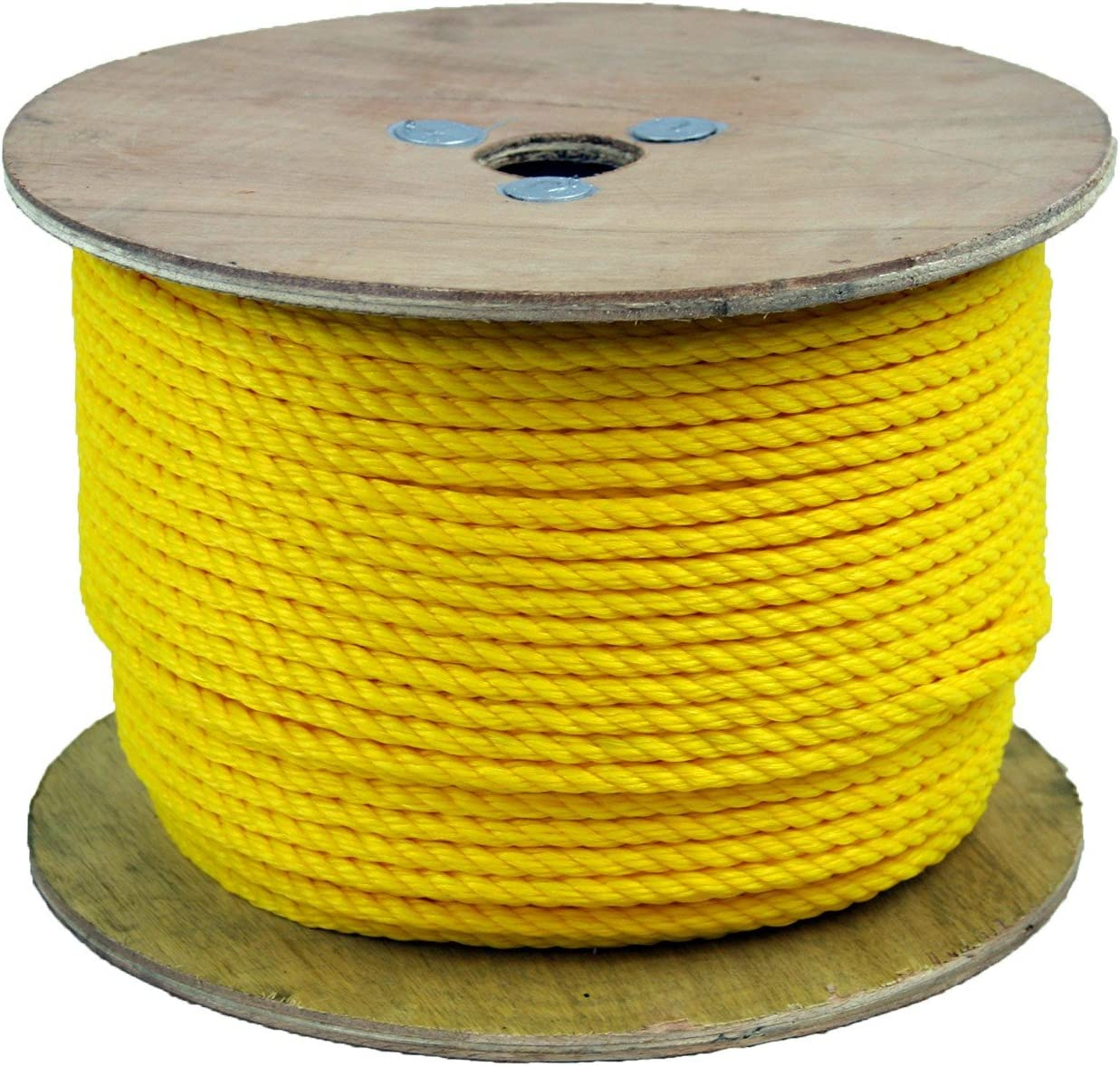 300075 38 Inch Poly Pro Yellow Rope 600 Feet Long