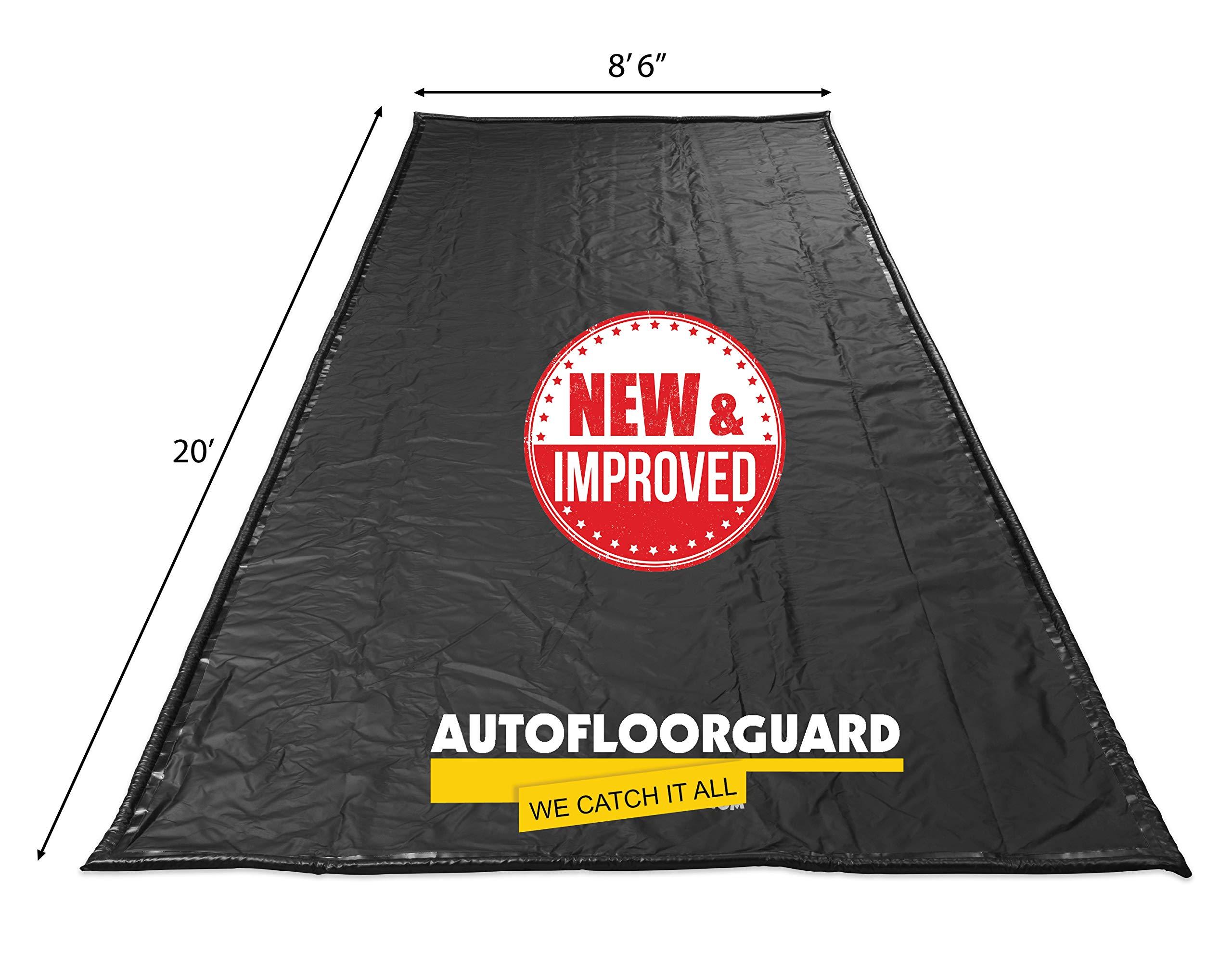 AutoFloorGuard AFGD-8620 Black 8'6'' x 20' SUV/Truck Size Containment Mat