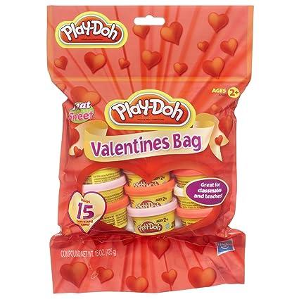 Play Doh Valentines Bag Dough