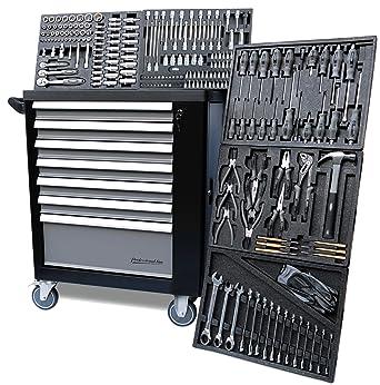 Carro de herramientas XXL para taller, en negro, 5 de 7 ...