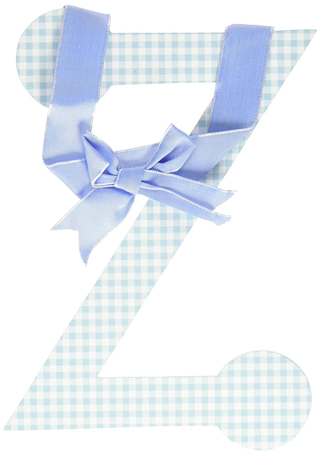 My Baby Sam Lower Case Letter l Blue Gingham Discontinued by Manufacturer