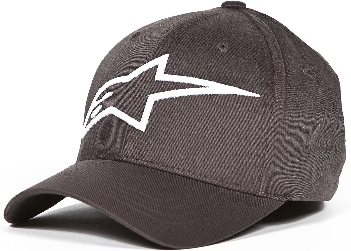 Alpinestars Logoastar Hat Gorra de béisbol, Hombre, Grey (Charcoal ...