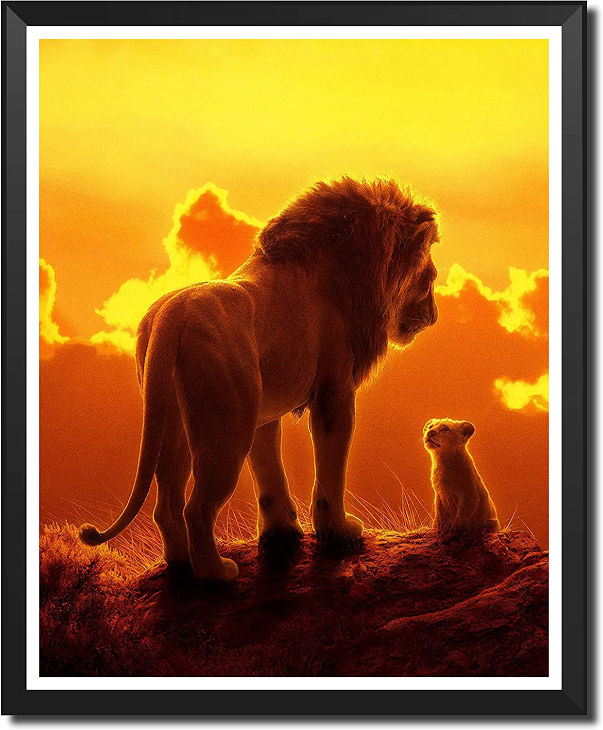Yansang Lion King Movie Art Prints Wall Art Picture for Bedroom Home Decor Canvas Print Poster,8 x 10 Inches,No Frame