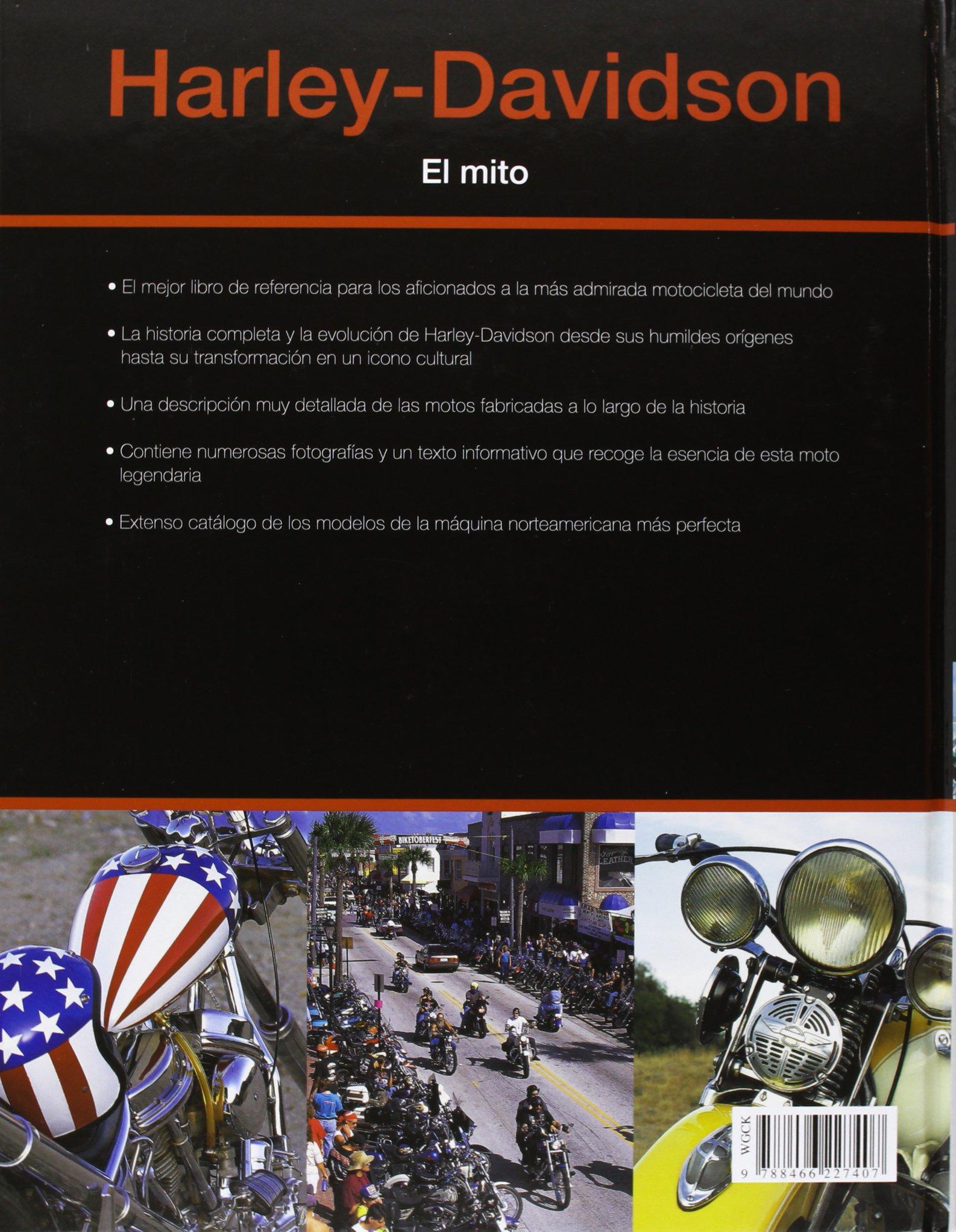 Harley-Davidson. El Mito (Motor): Amazon.es: Mac McDiarmid, Antonio Rincón Córcoles: Libros