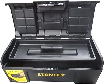 STANLEY 1-79-218 - Caja de herramientas con autocierre, 59.5 x 28.1 x 26.0: Amazon.es: Bricolaje y herramientas