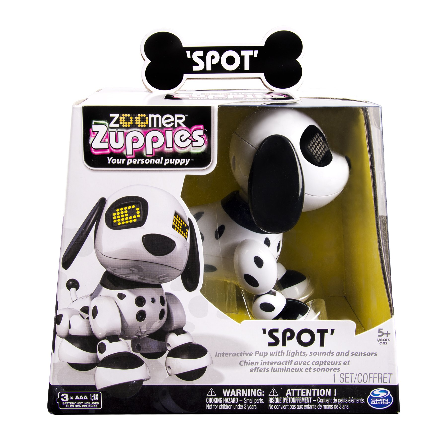 Zoomer Zuppies Interactive Puppy - Spot by Zoomer (Image #5)