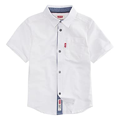 751c406fce Image Unavailable. Image not available for. Color  Levi s Big Boys  Short-Sleeve  Button up Shirt ...