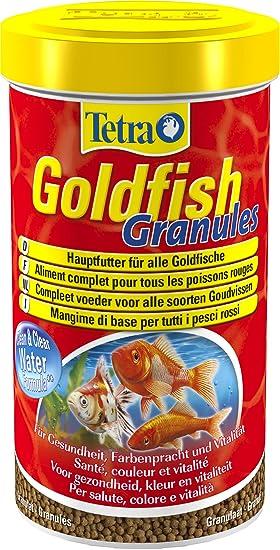 Tetra Goldfish - Alimento completo granulado flotante para peces rojos - 500 ml: Amazon.es: Productos para mascotas