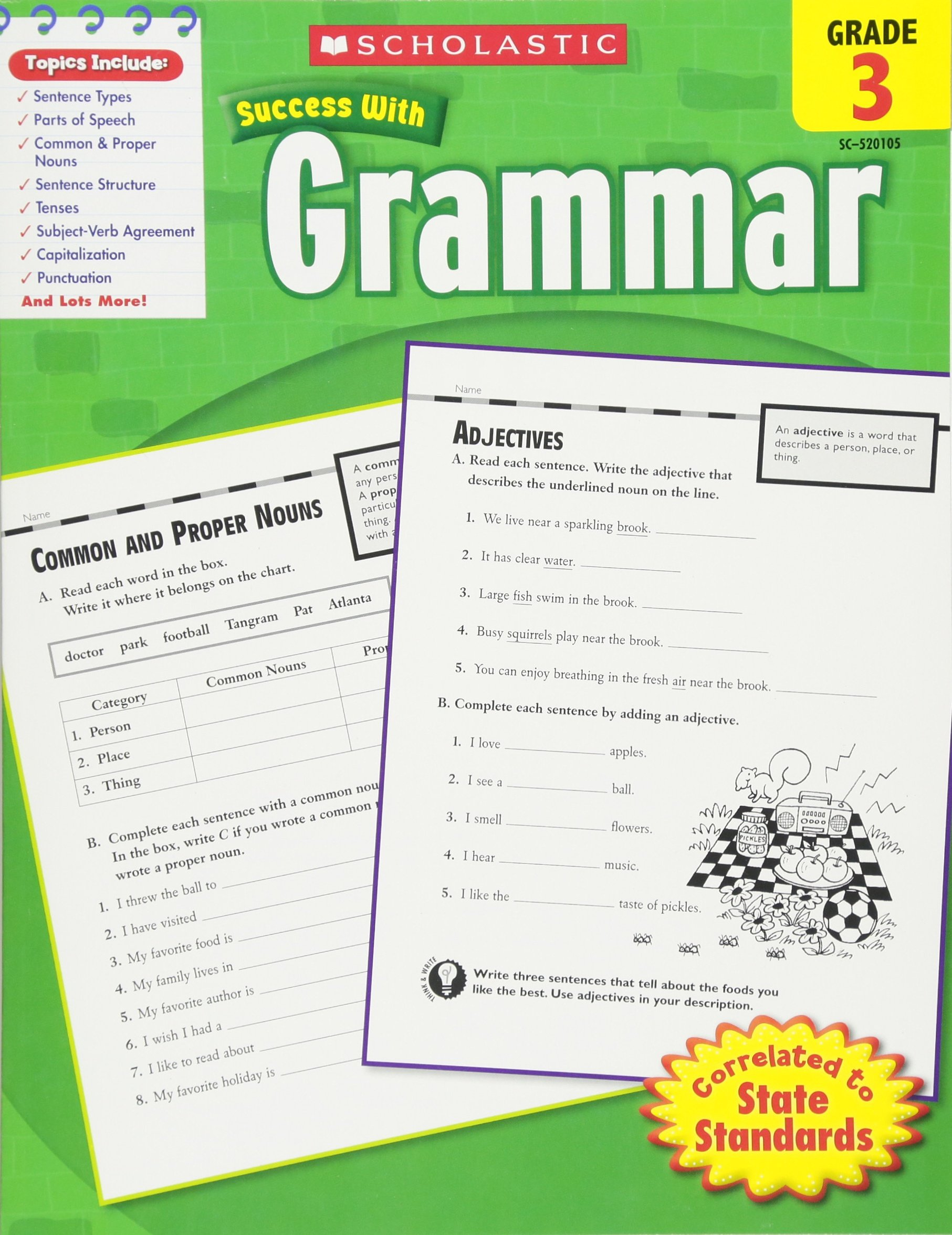 Buy Scholastic Success With Grammar - Grade 3 Book Online at Low Prices in  India | Scholastic Success With Grammar - Grade 3 Reviews & Ratings -  Amazon.in