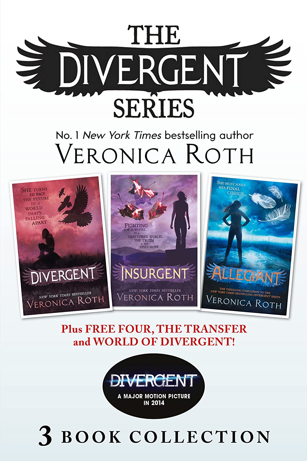 Divergent Series (Books 1-3) Plus Free Four, The Transfer and World of Divergent (Divergent) (English Edition) eBook: Roth, Veronica: Amazon.es: Tienda Kindle