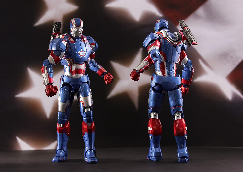 Play Imaginative Iron Patriot Iron Man 3 Action Figure 1//12 Scale