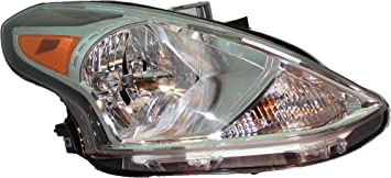 For 2015-2018 Nissan Versa Sedan Halogen Headlight Passenger side RH