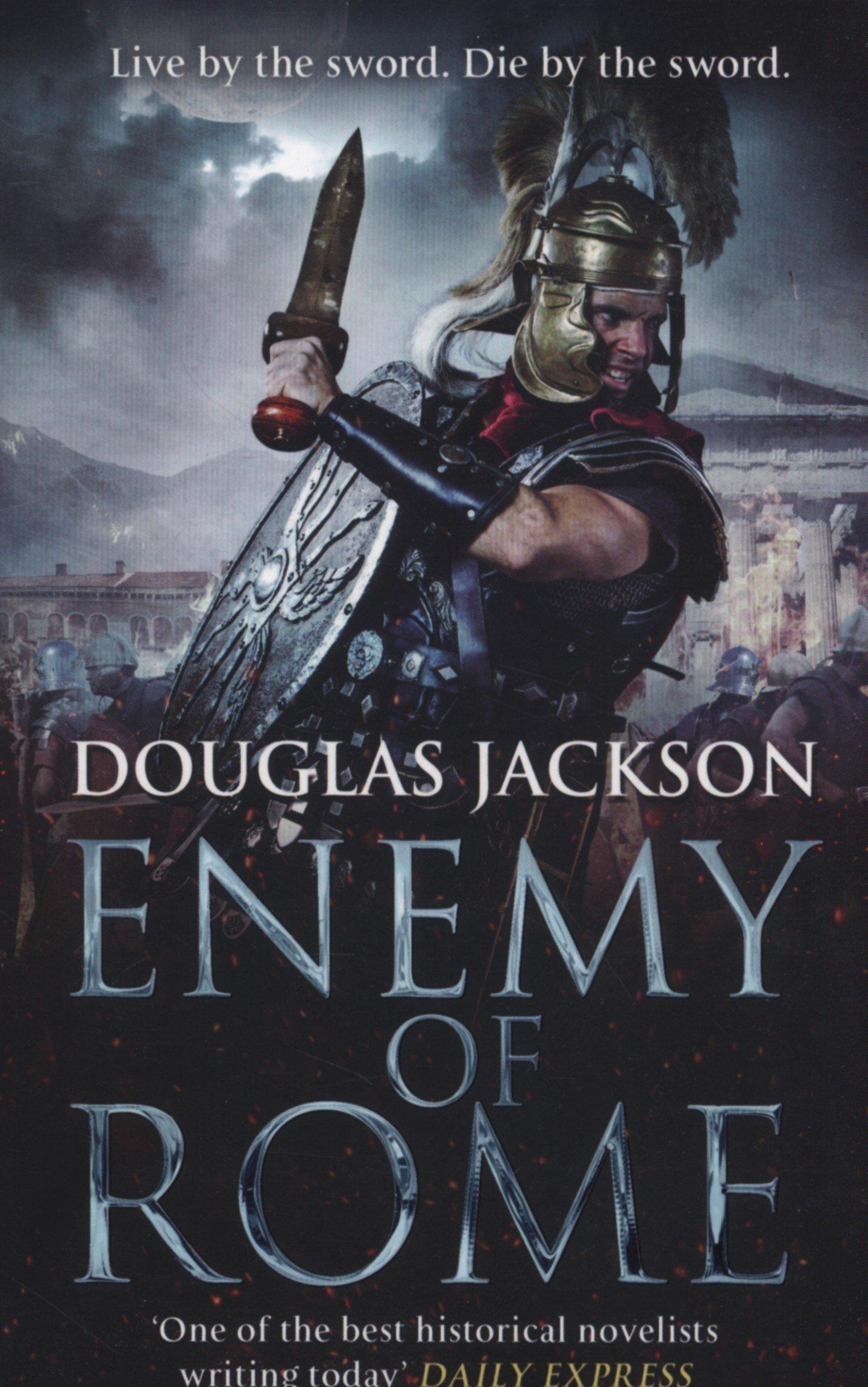Amazon: Enemy Of Rome (gaius Valerius Verrens) (9780552167949): Douglas  Jackson: Books